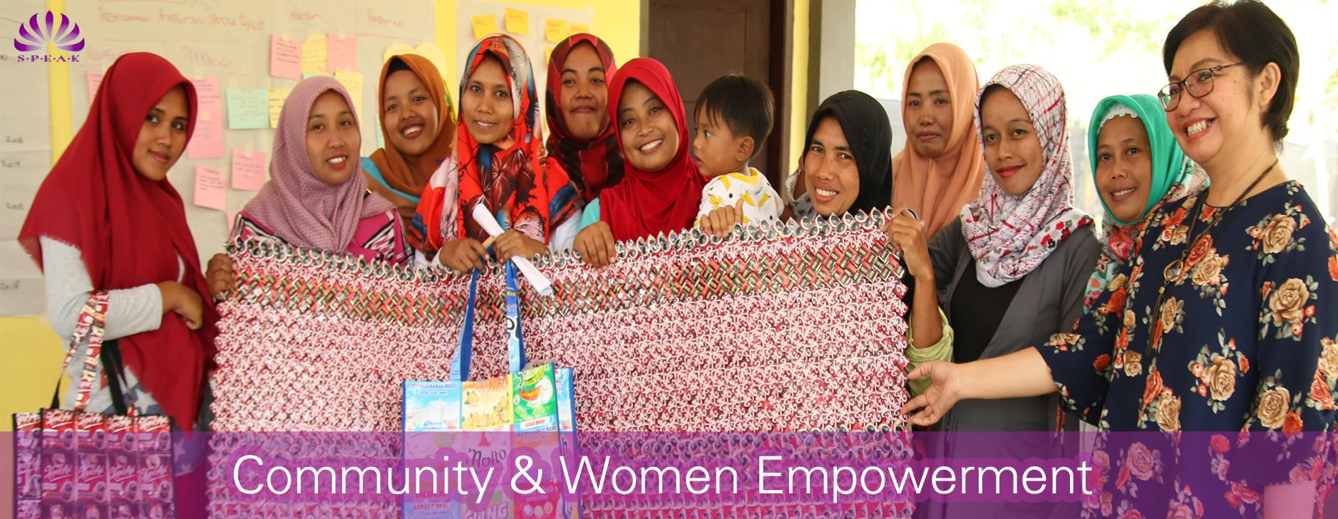 Community and Women Empowerment